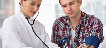 Health Insurance - Doctor Visit Couple